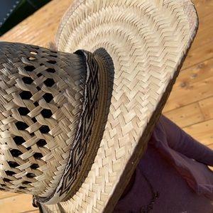 Horsehair handmade hat band